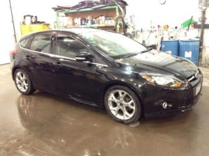 2014 Ford Focus 5DR Titanium 2.0 L4 Titanium Hatch Philips Repairables