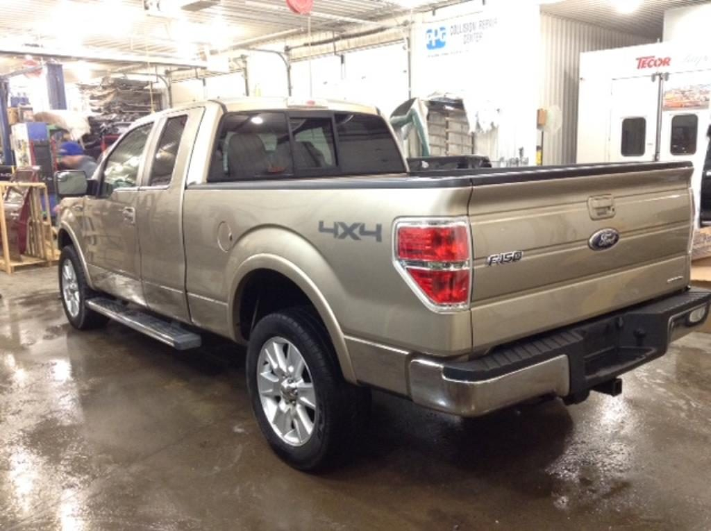 2012 Ford F150 Q/C S/B Lariat 4x4 5.0 V8 Lariat SuperCab 6.5-ft. Bed 4WD Philips Repairables