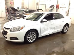 2016 Chevrolet Malibu Limited LT 2.5 L4 1LT Philips Repairables