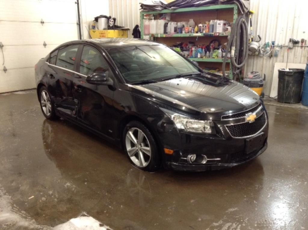 2012 Chevrolet Cruze 2LT RS 1.4 L4 2LT Philips Repairables