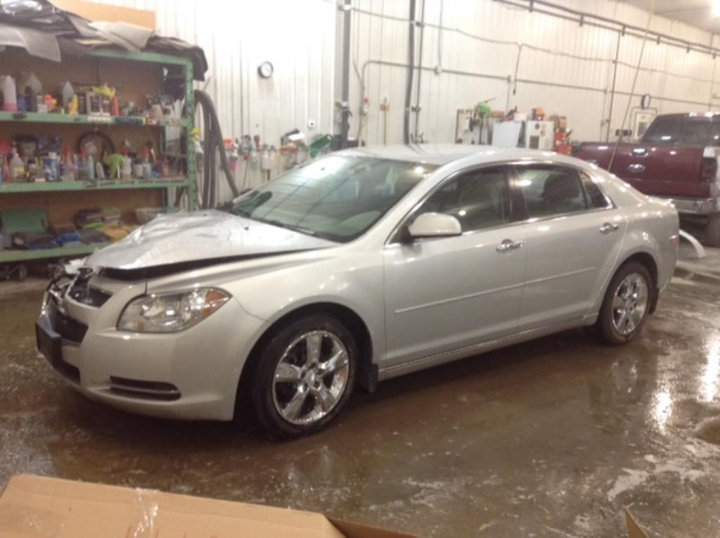 2012 Chevrolet Malibu 2LT 2.4 L4 2LT Philips Repairables