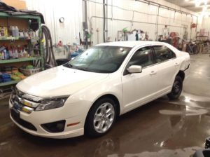 2010 Ford Fusion SE 2.5 L4 SE Philips Repairables