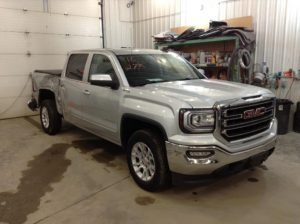 2016 GMC S1500 Crew S/B SLE 4x4 5.3 V8 SLE Crew Cab Short Box 4WD Philips Repairables