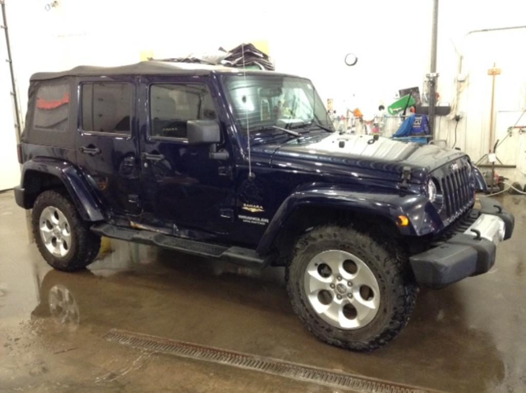 2013 Jeep Wrangler Unltd Sahara 4x4 3.6 V6 Unlimited Sahara 4WD Philips Repairables