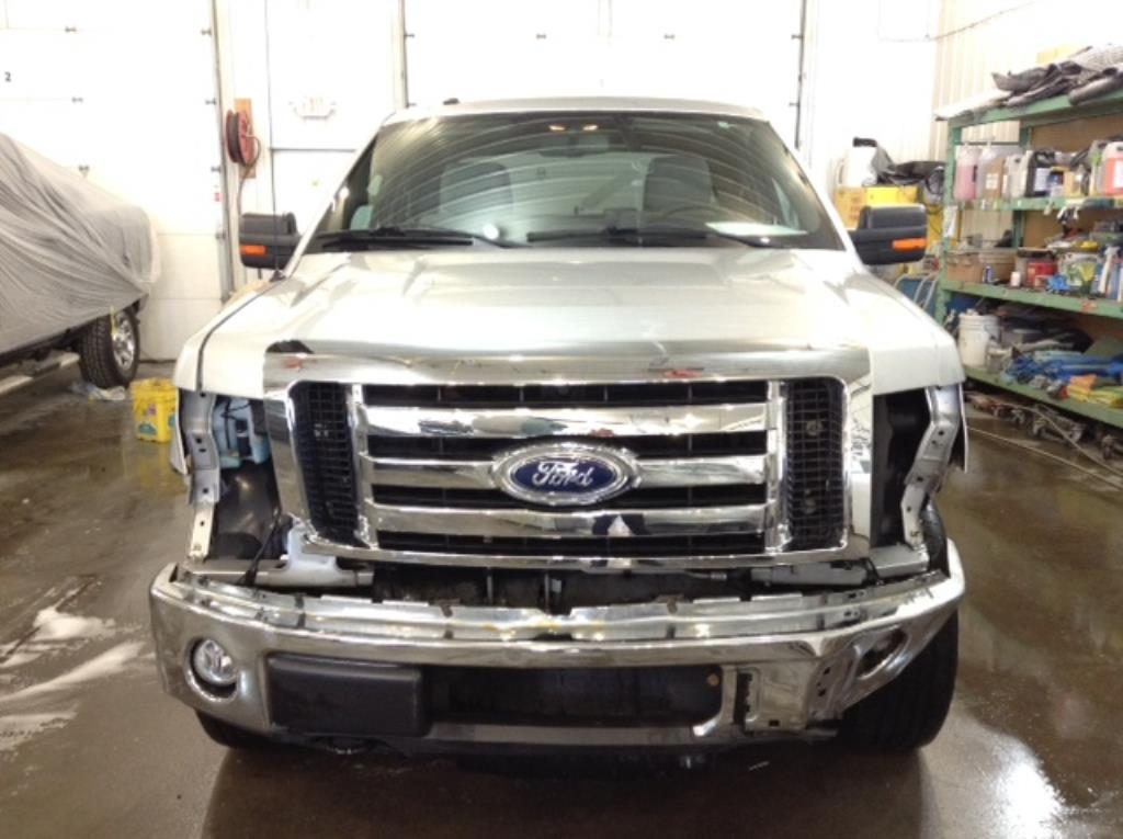 2010 Ford F150 Q/C S/B XLT 4x4 5.4 V8 XLT SuperCab 6.5-ft. Bed 4WD Philips Repairables