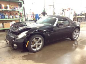 2007 Pontiac Solstice Convertible 2.4 L4 Base Philips Repairables