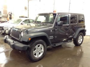 2014 Jeep Wrangler Unltd Sport 4x4 3.6 V6 Unlimited Sport 4WD Philips Repairables