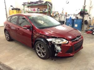 2014 Ford Focus 5Dr SE 2.0 L4 SE Hatch Philips Repairables