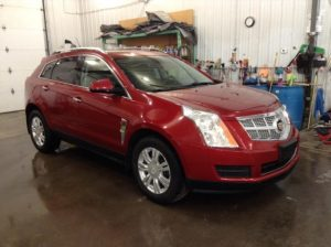 2012 Cadillac SRX Luxury AWD 3.6 V6 Luxury AWD Philips Repairables