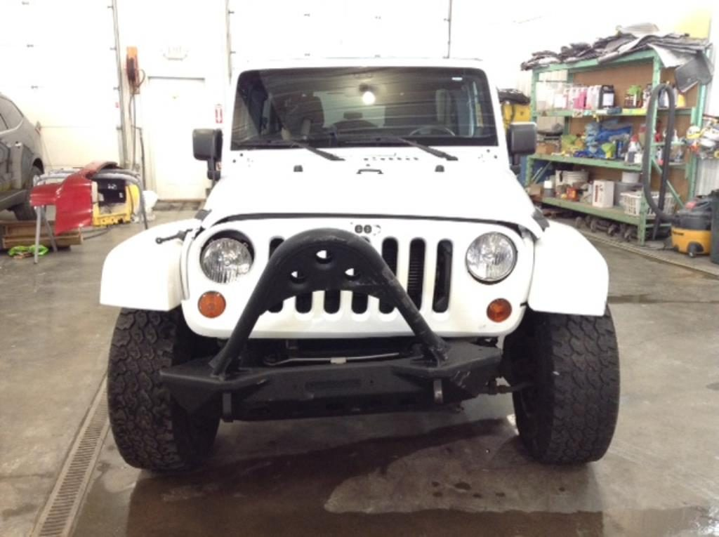 2012 Jeep Wrangler Unltd Sahara 4x4 3.6 V6 Unlimited Sahara 4WD Philips Repairables