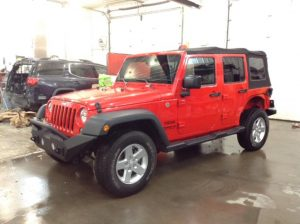 2016 Jeep Wrangler Unltd Sport 4x4 3.6 V6 Unlimited Sport 4WD Philips Repairables