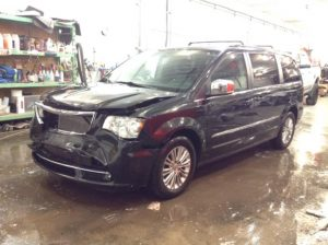 2015 Chrysler Town & Country Touring L 3.6 V6 Touring-L Philips Repairables
