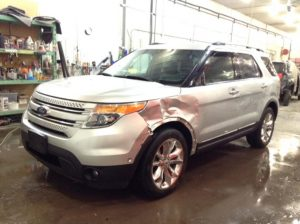 2012 Ford Explorer Limited AWD 3.5 V6 Limited 4WD Philips Repairables