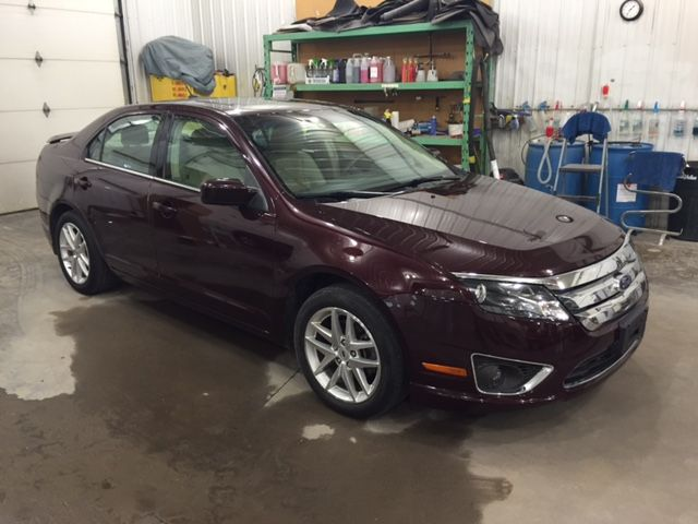 2012 Ford Fusion SEL AWD SEL AWD Philips Repairables