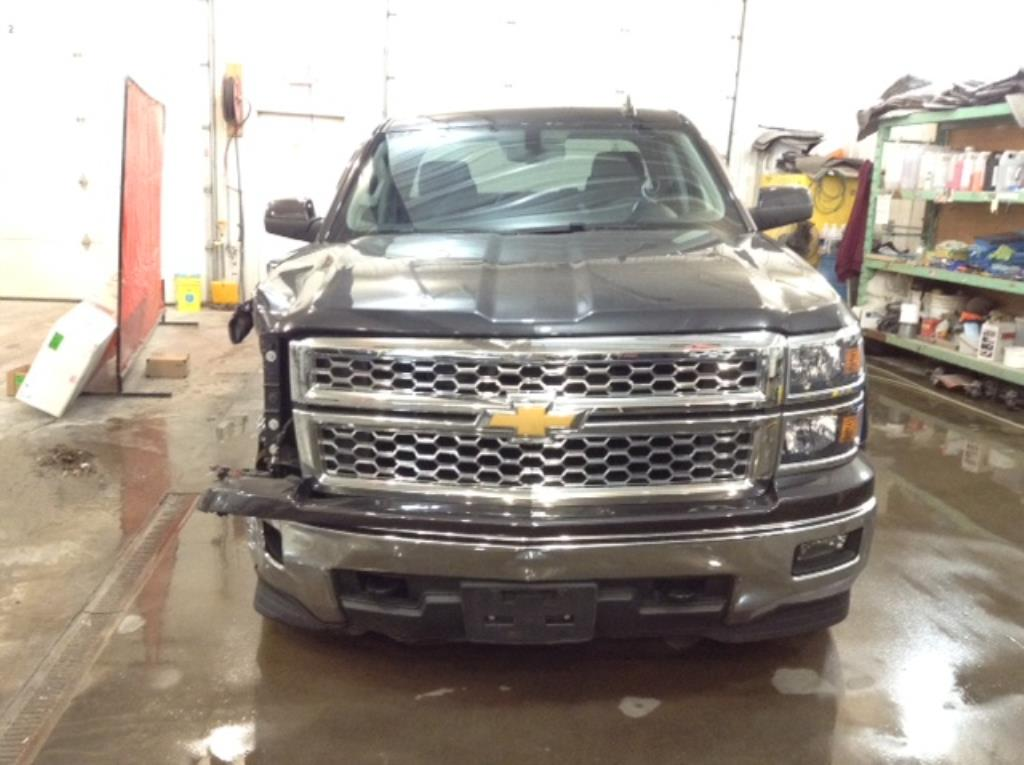 2015 Chevrolet S1500 Q/C S/B LT 4X 5.3 V8 LT Double Cab 4WD Philips Repairables