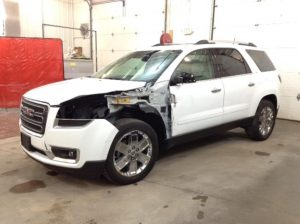 2017 GMC Acadia Limited SLT2 AWD 3.6 V6 AWD Philips Repairables