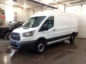 2015 Ford T150 Mid Ext Cargo 3.7 V6 150 Van Med. Roof w/Sliding Pass. 148-in Philips Repairables