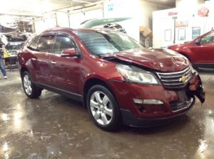 2017 Chevrolet Traverse LT AWD 3.6 V6 1LT AWD Philips Repairables