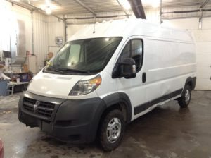 2016 Dodge P2500 High Ext Cargo 3.0 L4 Diesel 2500 High Roof Tradesman 159-in. WB Philips Repairables