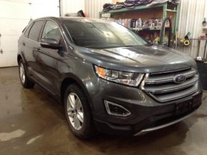 2018 Ford Edge SEL AWD 2.0 L4 Turbo SEL AWD Philips Repairables
